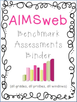 RTI Universal Screening Assessments Binder Set: AIMSweb, D