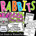 Rabbits Mini Writing Unit for 1st-2nd grades