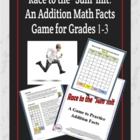 "Race to the ""Sum""mit: A Math Facts Addition Game"