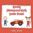Racing Math and Literacy Mini Packet