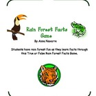 Rain Forest Facts Game
