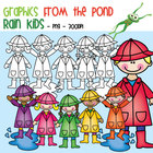 Rain Kids - Graphics From the Pond