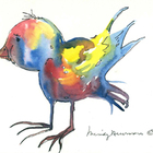 Rainbow Animals in Watercolor
