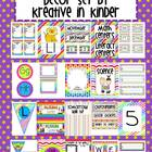 Rainbow Classroom Theme Decor for Beginning of the Year