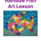 Rainbow Fish Art Lesson!