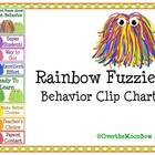 Rainbow Fuzzies Behavior Clip Chart