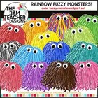 Rainbow Fuzzies - Clip Art