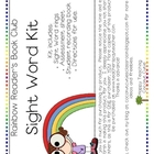 Rainbow Reader's Book Club-Sight Words