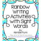 Rainbow Writing Grade 2 Sight Words