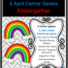 Raindrops and Rainbows Common Core Centers April Bundle