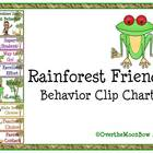 Rainforest Friends Behavior Clip Chart