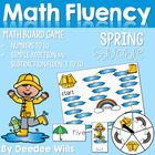 Raining Cats and Dogs! Math Fluency 0-9, Addition and  Sub