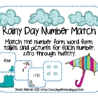 Rainy Day Number Match