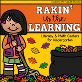 Rakin' in the Learning {Fall Themed Kindergarten Literacy