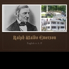Ralph Waldo Emerson Biographical Slides