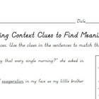Ramona Quimby Age 8 Chapter 2 Context Clues Vocabulary