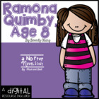 Ramona Quimby, Age 8 Guided Reading or Novel Study