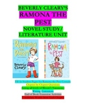 Ramona the Pest Literature Unit/Novel Study