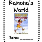 Ramona's World Chapter Book Guide