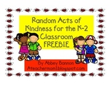 Random Acts of Kindness for the Classroom - FREEBIE