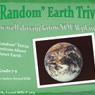 """Random"" Earth Trivia PowerPoint  (Perfect for Earth Day a"
