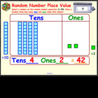 Random Number Place Value - SMARTBOARD FILE