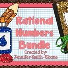 Rational Numbers Unit Bundle for Interactive Notebooks