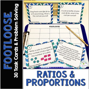 Ratios and Proportions Footloose and Problem Solving