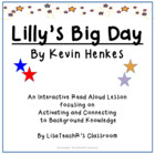 Read Aloud Lesson Plan: Lilly's Big Day