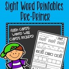 Read Color Circle Create Sight Word Printables-ALL Pre-Pri