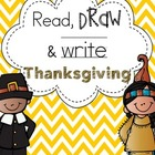 Read Draw and Write: Thanksgiving