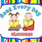 Read Every Day Challenge Chart FREE