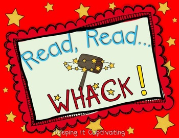 Read, Read... Whack! Dolch Sight Word Game