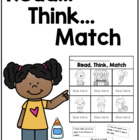 Reading Skills Pack 1: Read, Think, Match Bundle