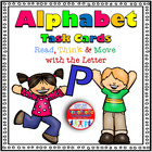 Read, Think & Move with the Letter P - Freebie {Alphabet T