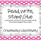 Read, Write, Stamp, Glue