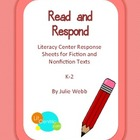 Read and Respond Literacy Center