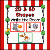 Read and Write the Room with 2D and 3D Shapes!