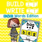 Read it! Build it! Write it! {CVC Words Edition}