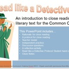 Read like a Detective: An Intro to Close Reading for the C
