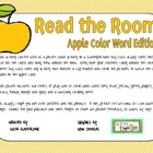 Read the Room-Apple Color Word Edition