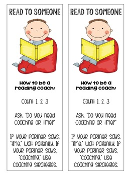 Read to Someone Bookmarks