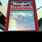 Reader's Handbook, Student Guide for Reading/Learning
