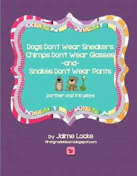 Readers' Theater: Dogs Don't Wear Sneakers partner & trio plays