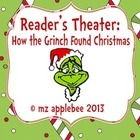 Reader's Theater: How the Grinch Found Christmas
