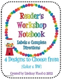 Reader's Workshop Notebook {Using a Composition Notebook}