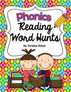 Phonics Reading Word Hunts