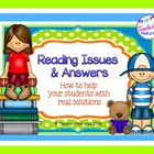 Reading Answers: How to Help Your Students with Real Solutions