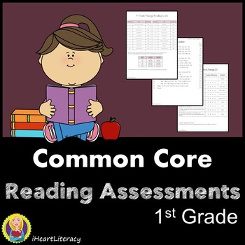 Common Core RTI Reading Assessments - 1st Grade