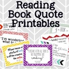Reading Book Quote Printables